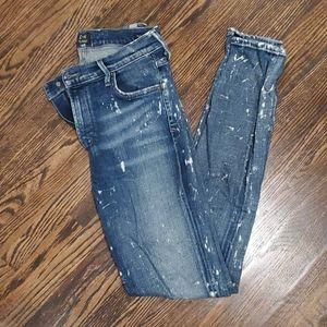 Paint Splatter Style Jeans